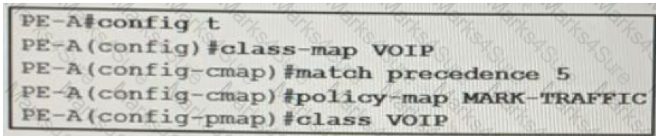 QoS class-based marking