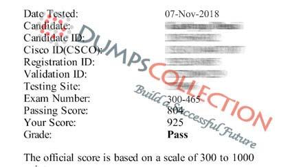 300-465 dumps